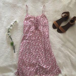 $5 W/ BUNDLE Cherry Blossom Button Front Dress